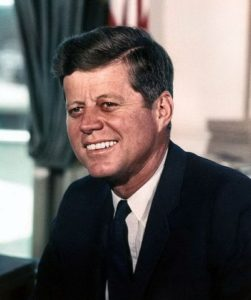 John F. Kennedy and his principle of making one main point