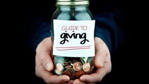 teaching people to give