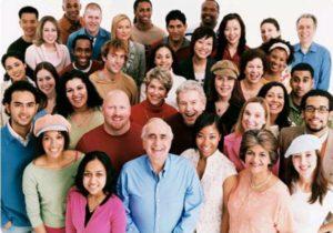 varied group of people