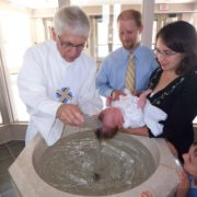 catholic infant baptism