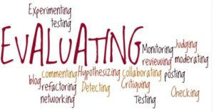 what it means to evaluate