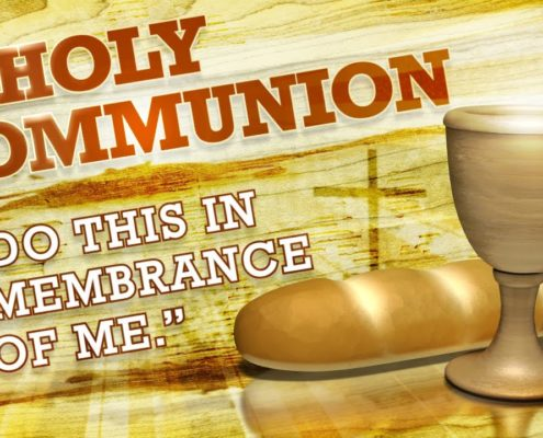 picture of communion elements
