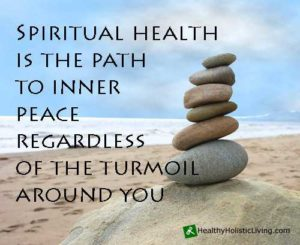 poster about spiritual health