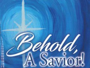 behold a savior poster