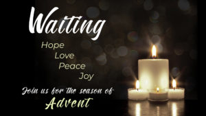advent a time of waiting