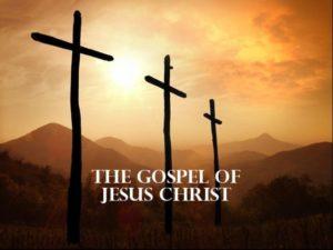 image of three crosses